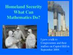 homeland security what can mathematics do2