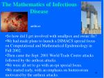 the mathematics of infectious disease