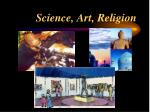 science art religion