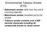 environmental tobacco smoke ets
