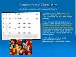 combinatorial chemistry9