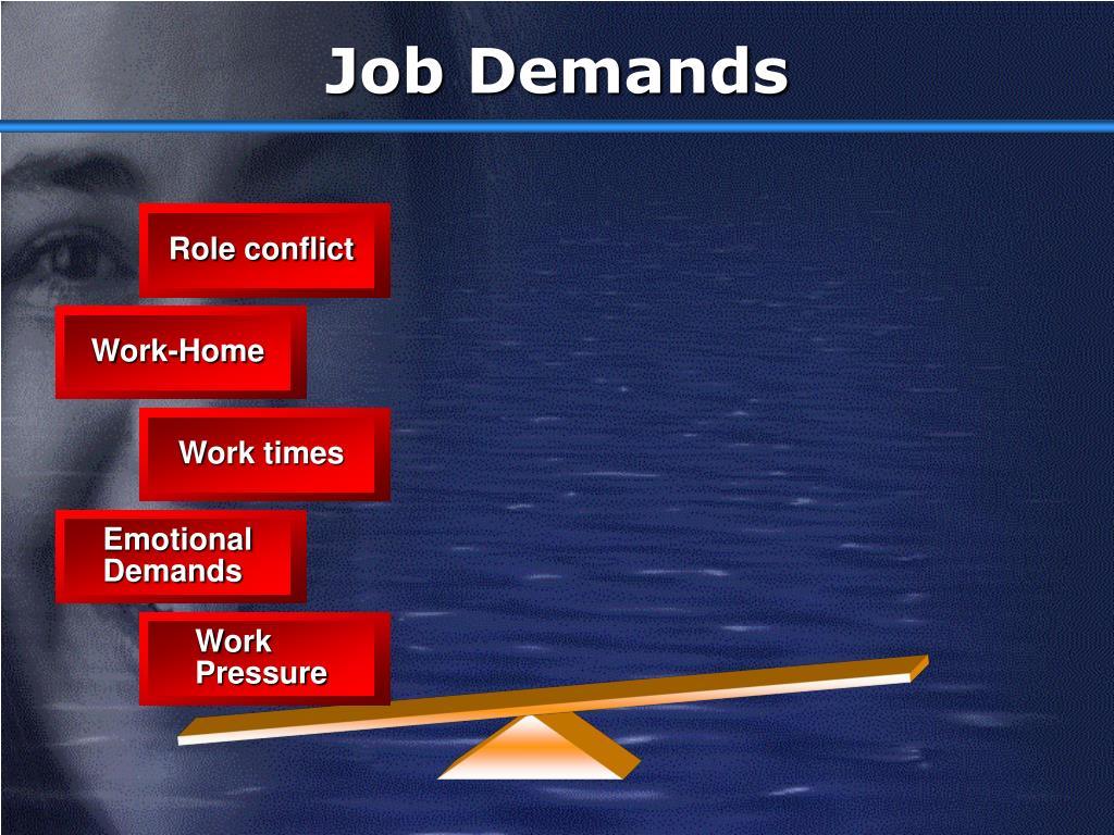 Job Demands