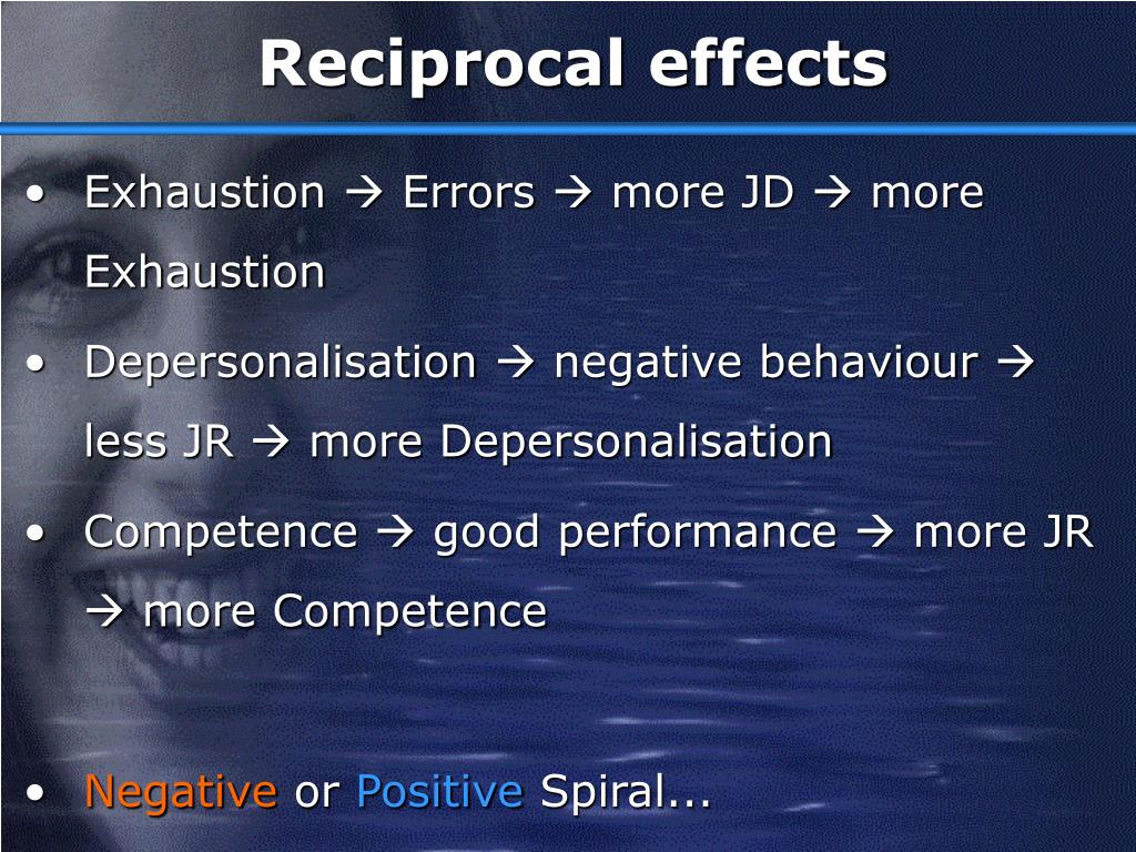 Reciprocal effects
