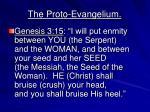 the proto evangelium