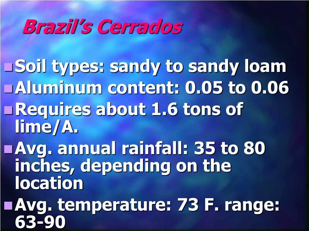 Brazil's Cerrados