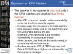 digression on cpu patches15