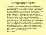 complementarity24