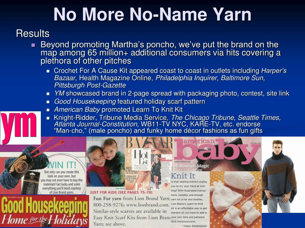 No More No-Name Yarn