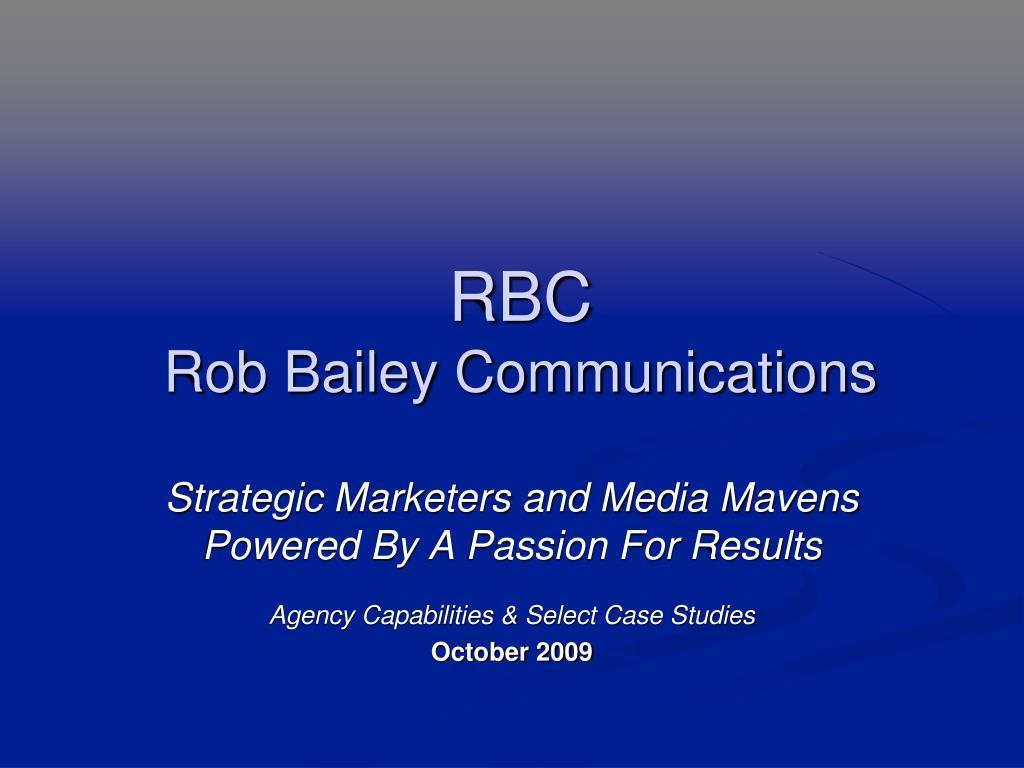 rbc rob bailey communications l.