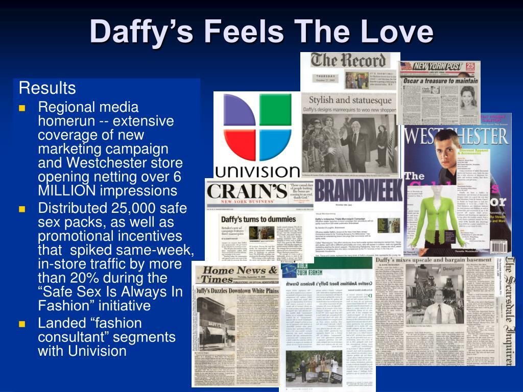 Daffy's Feels The Love