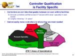 controller qualification is facility specific