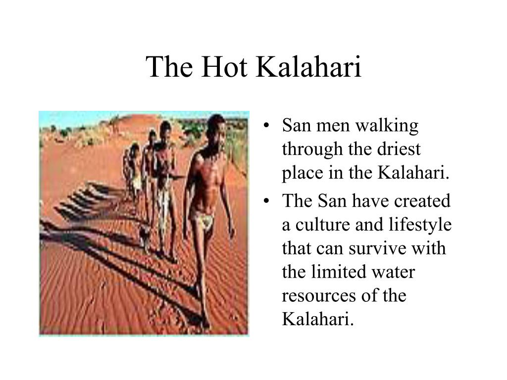 The Hot Kalahari