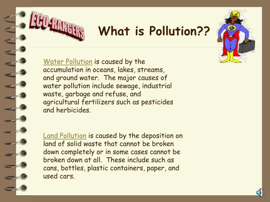 What is Pollution??