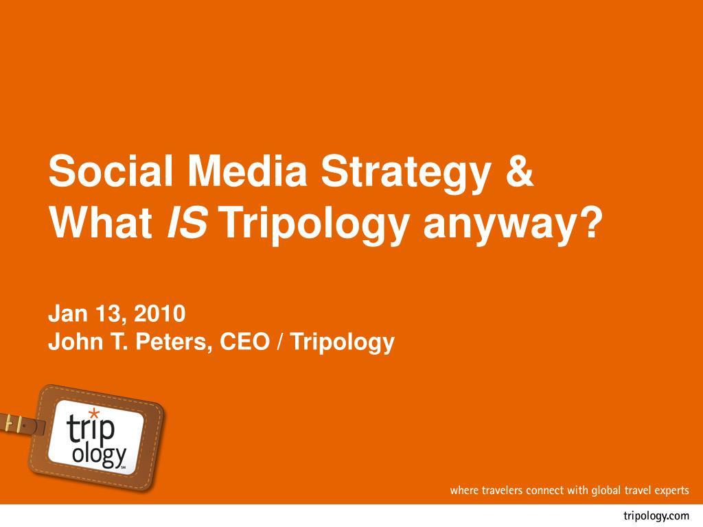 Social Media Strategy &