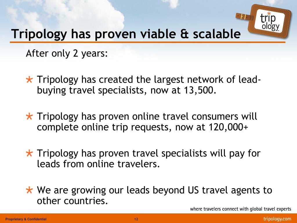 Tripology has proven viable & scalable