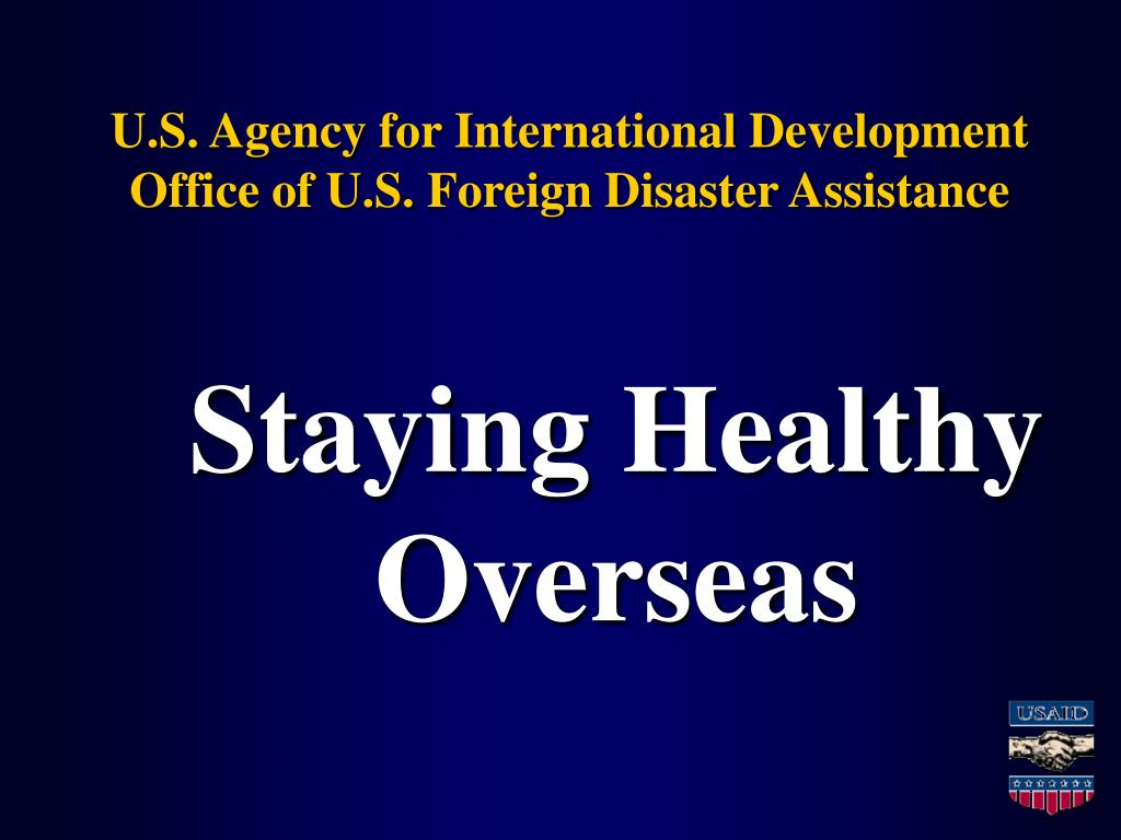 u s agency for international development office of u s foreign disaster assistance l.