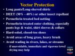 vector protection