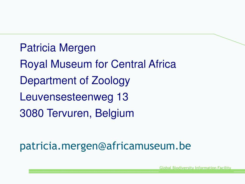 Patricia Mergen