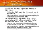 focus on african r e networking4