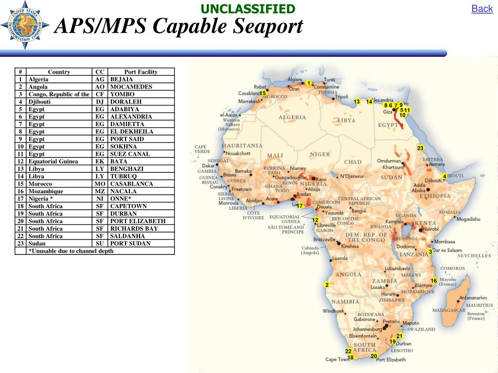 APS/MPS Capable Seaport
