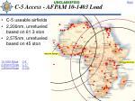 c 5 access afpam 10 1403 load