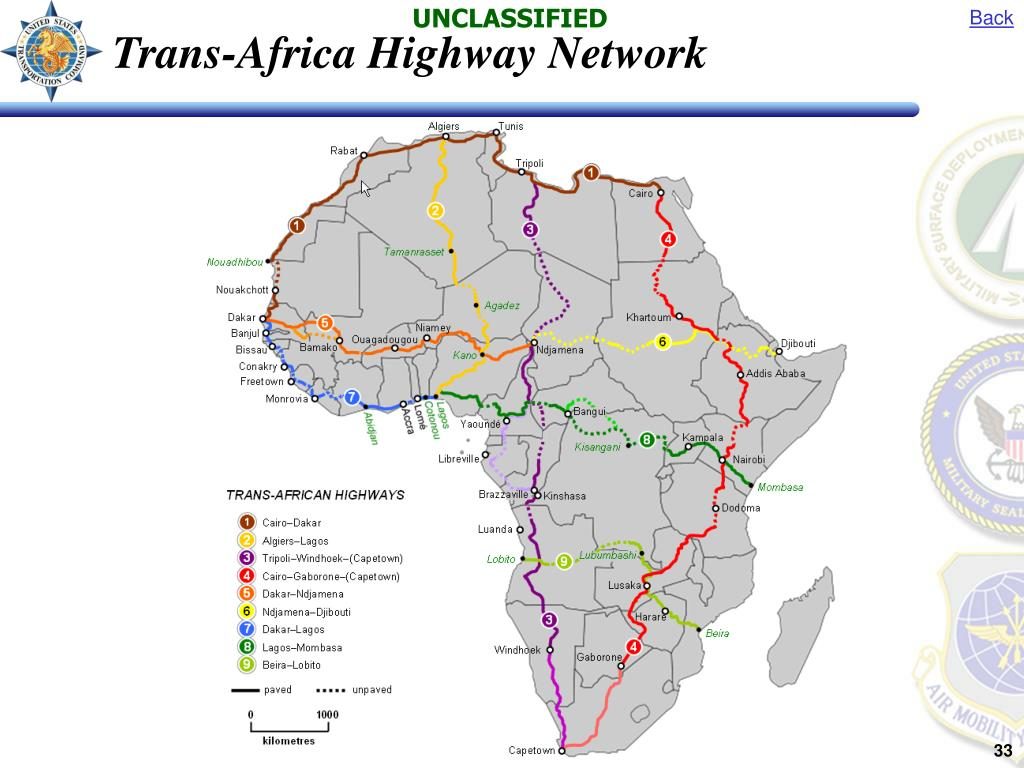 Trans-Africa Highway Network