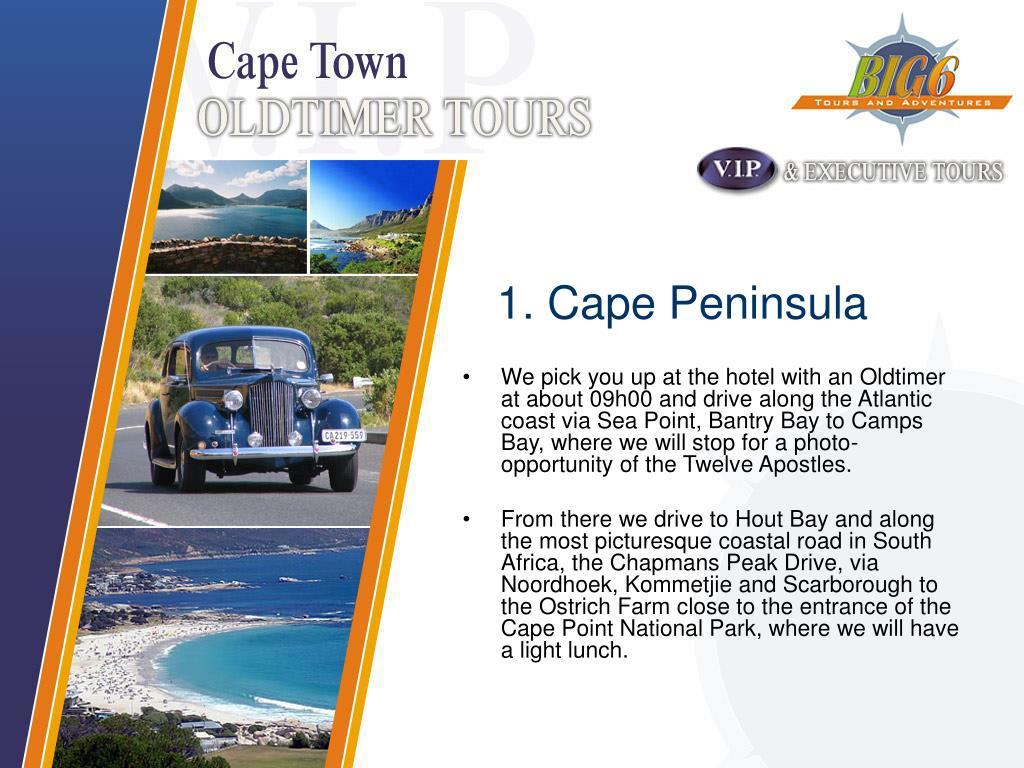 1. Cape Peninsula