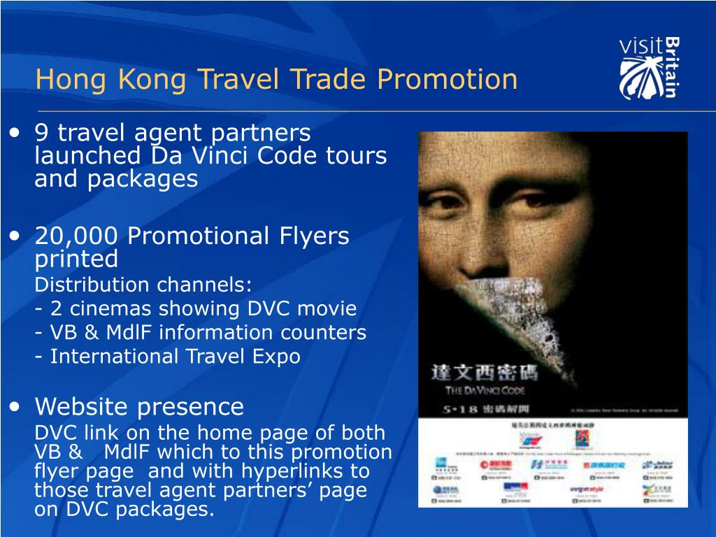 Hong Kong Travel Trade Promotion