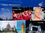 major attractions