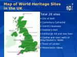 map of world heritage sites in the uk