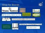 shop for brands