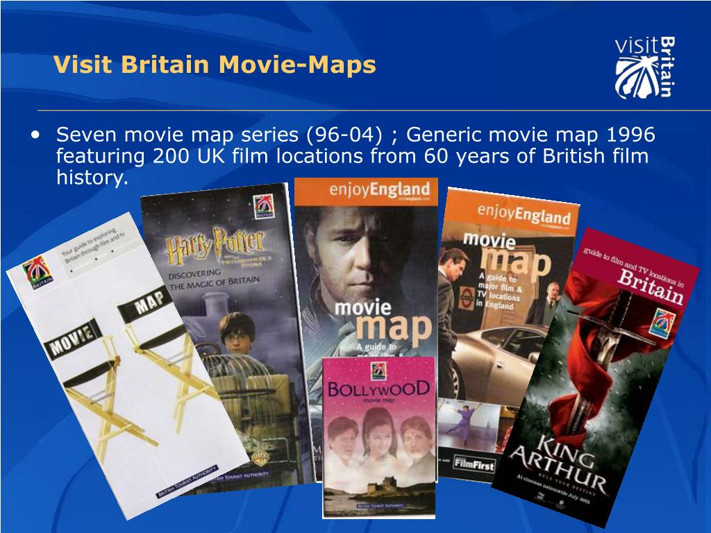 Visit Britain Movie-Maps