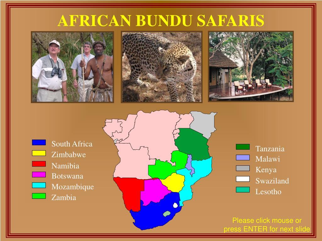 african bundu safaris l.