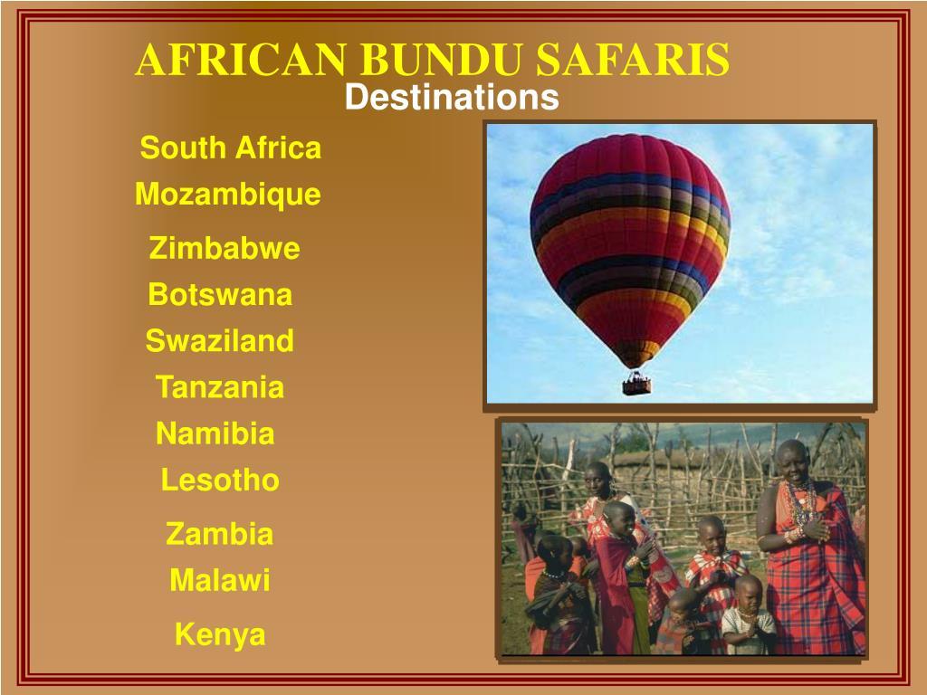 AFRICAN BUNDU SAFARIS