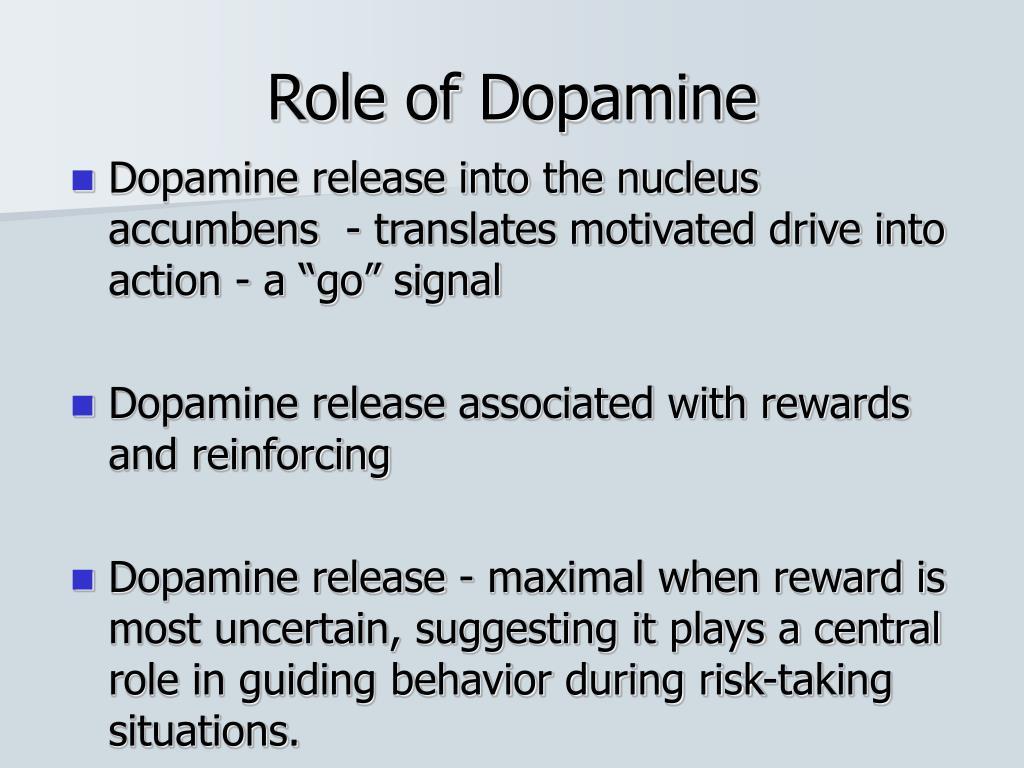 Role of Dopamine