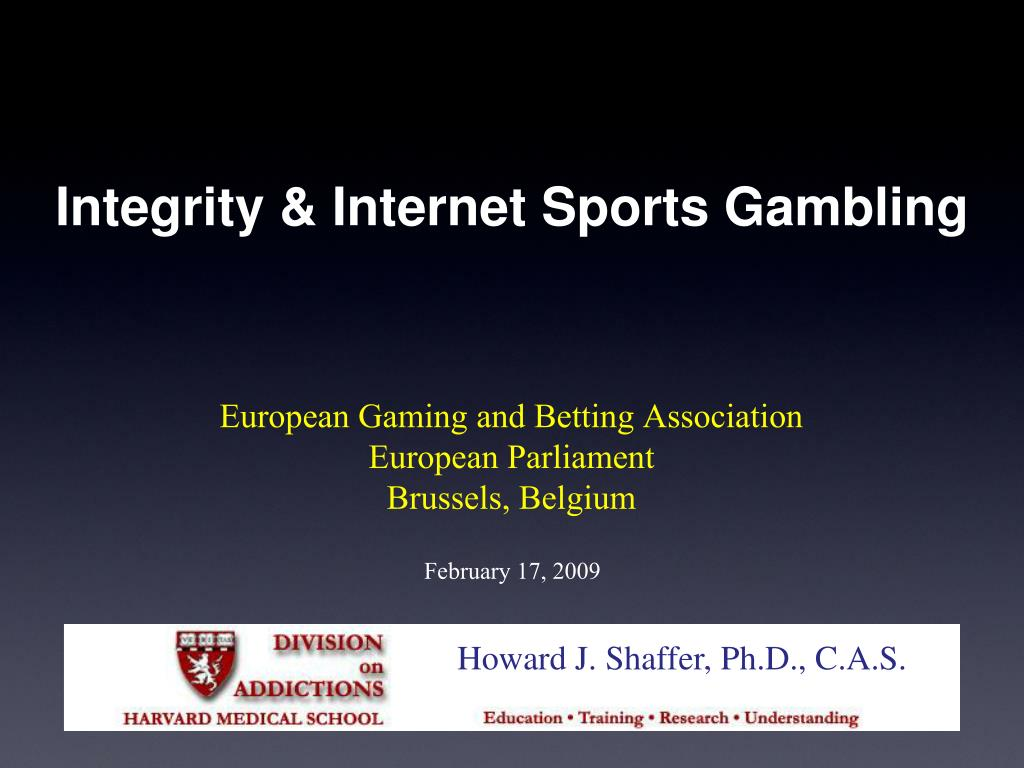 integrity internet sports gambling l.