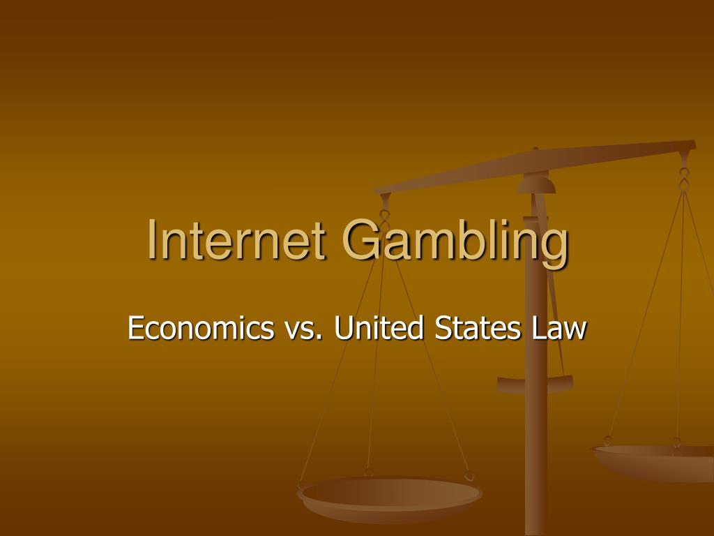 internet gambling l.