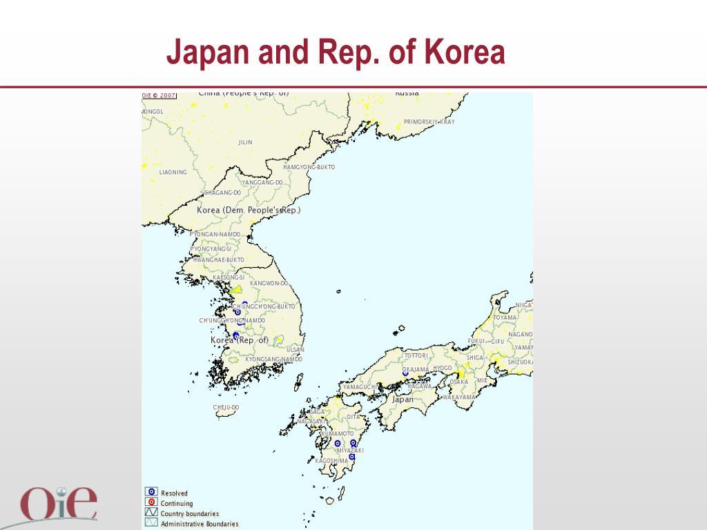 Japan and Rep. of Korea