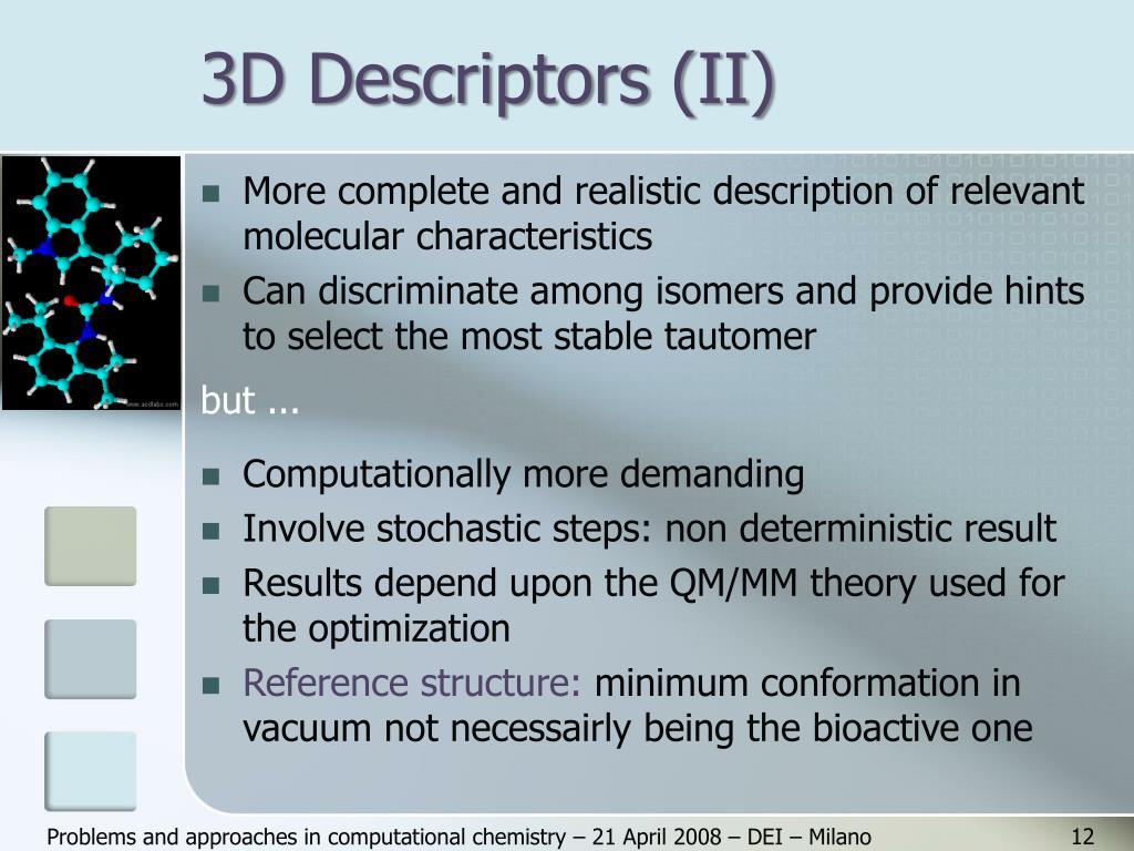 3D Descriptors (II)