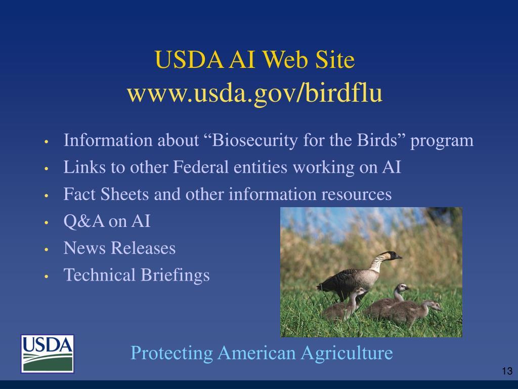 USDA AI Web Site