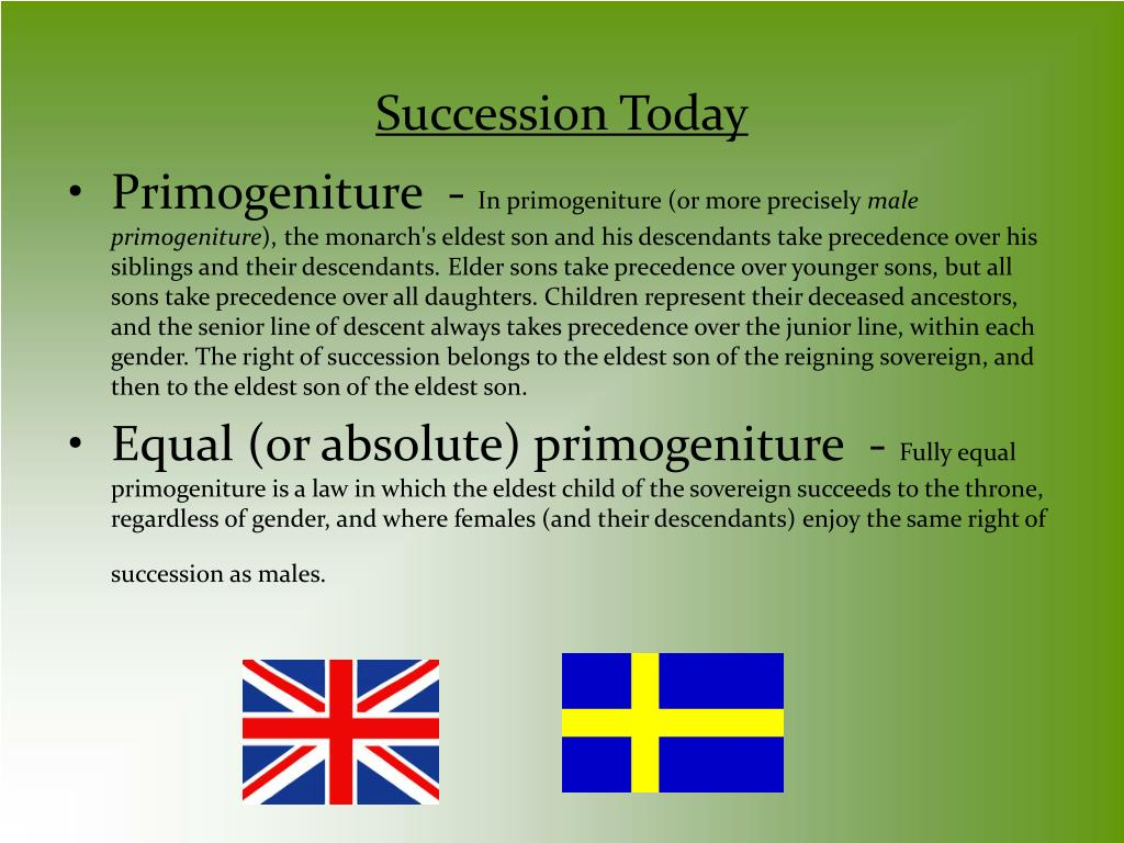 Succession Today