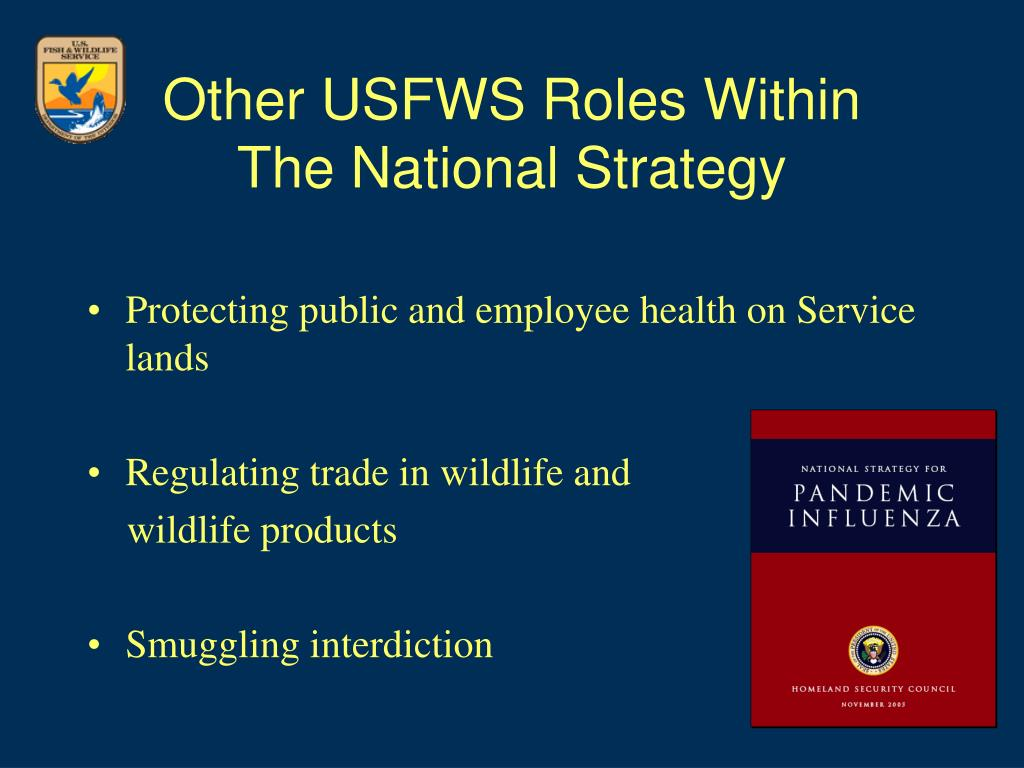 Other USFWS Roles Within
