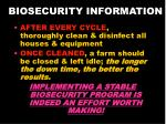 biosecurity information21