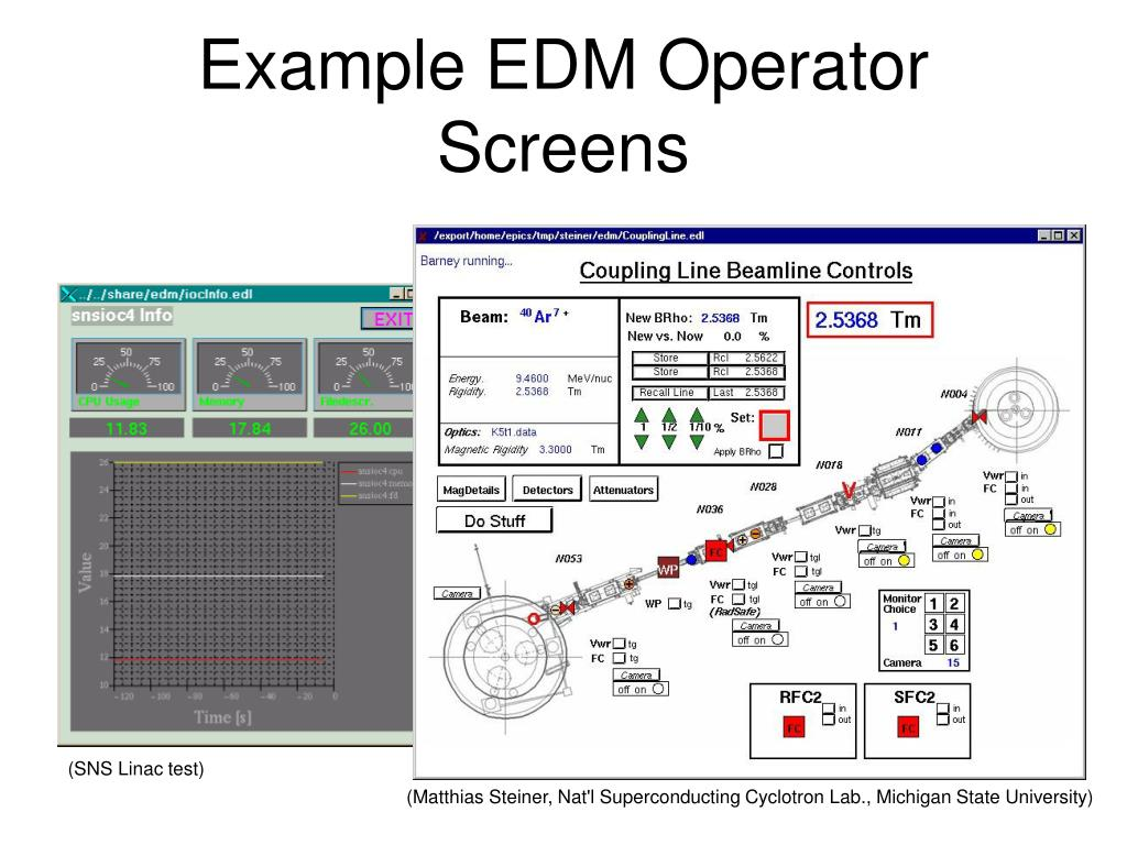 PPT - EDM Extensible Display Manager for EPICS PowerPoint