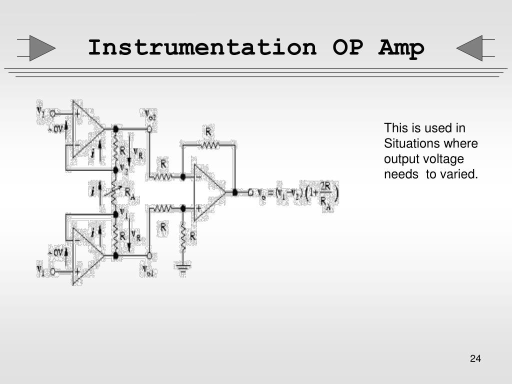 Instrumentation OP Amp