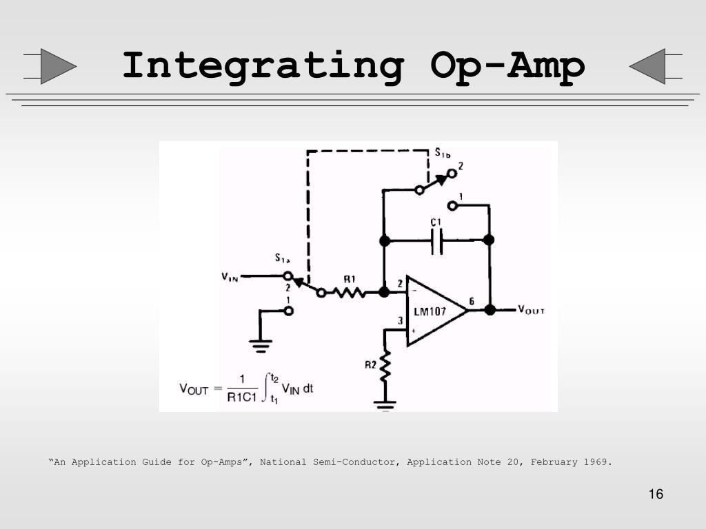 Integrating Op-Amp