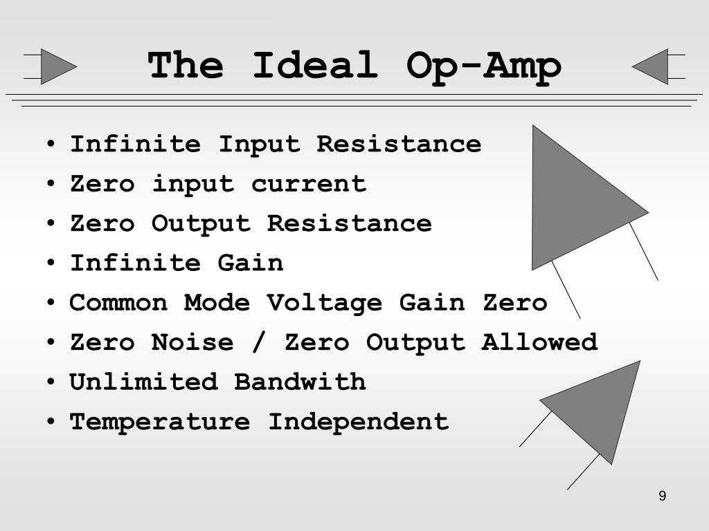 The Ideal Op-Amp