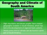 geography and climate of south america
