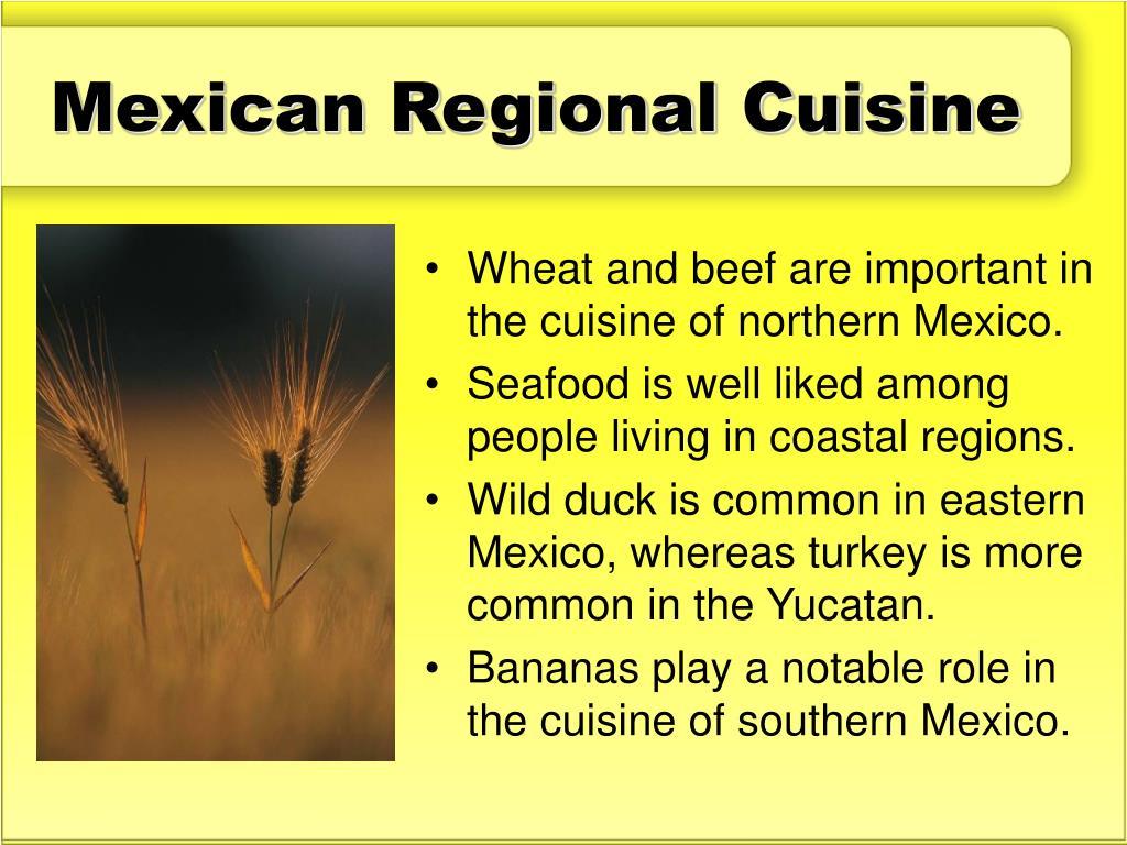 Mexican Regional Cuisine