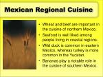 mexican regional cuisine